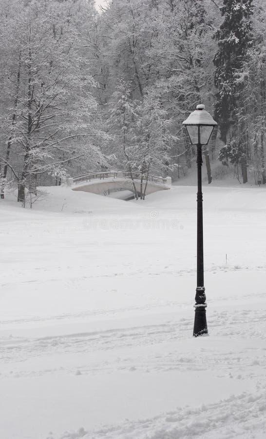 χειμώνας 10 παραμυθιού στοκ εικόνα