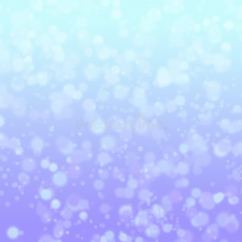 Χειμώνας bokeh στοκ εικόνα