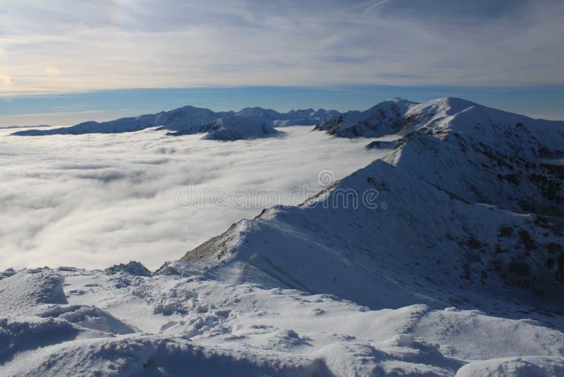 Χειμώνας Tatra στοκ φωτογραφίες