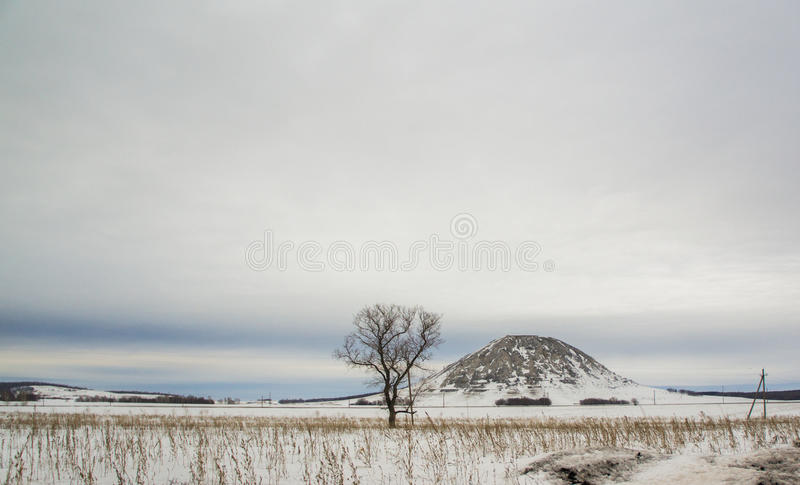 Χειμώνας Toratau στοκ εικόνα