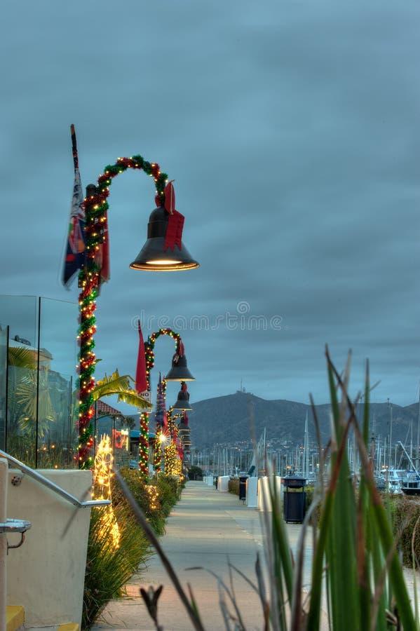 Χειμώνας Ventura στο λιμάνι στοκ εικόνα με δικαίωμα ελεύθερης χρήσης