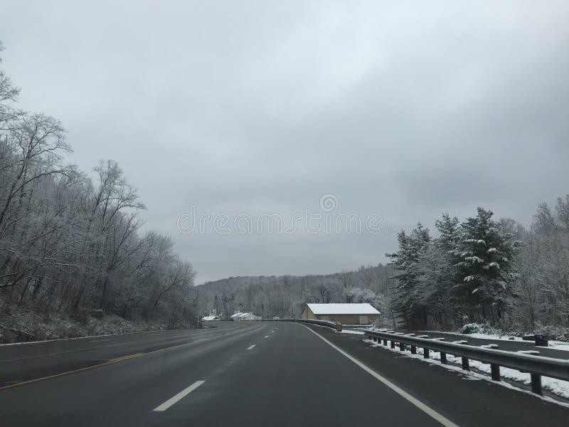 Χειμώνας wanderland στοκ φωτογραφίες με δικαίωμα ελεύθερης χρήσης
