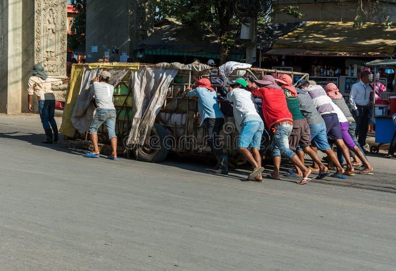 Χειραποσκευή στην Καμπότζη στοκ εικόνες με δικαίωμα ελεύθερης χρήσης