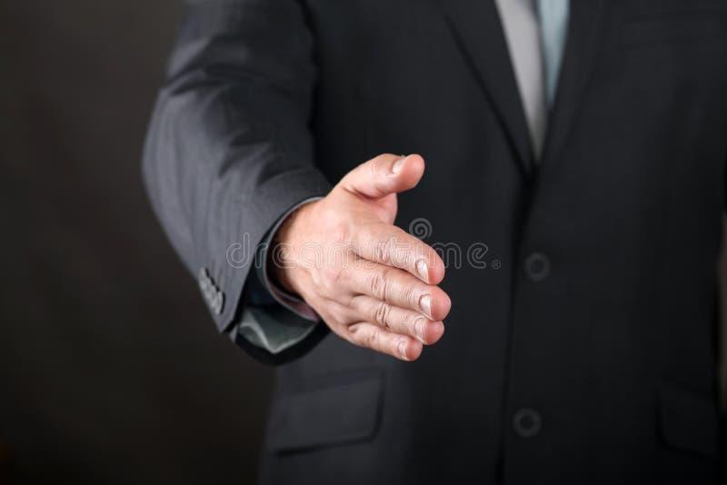 χειραψία χεριών στοκ φωτογραφίες