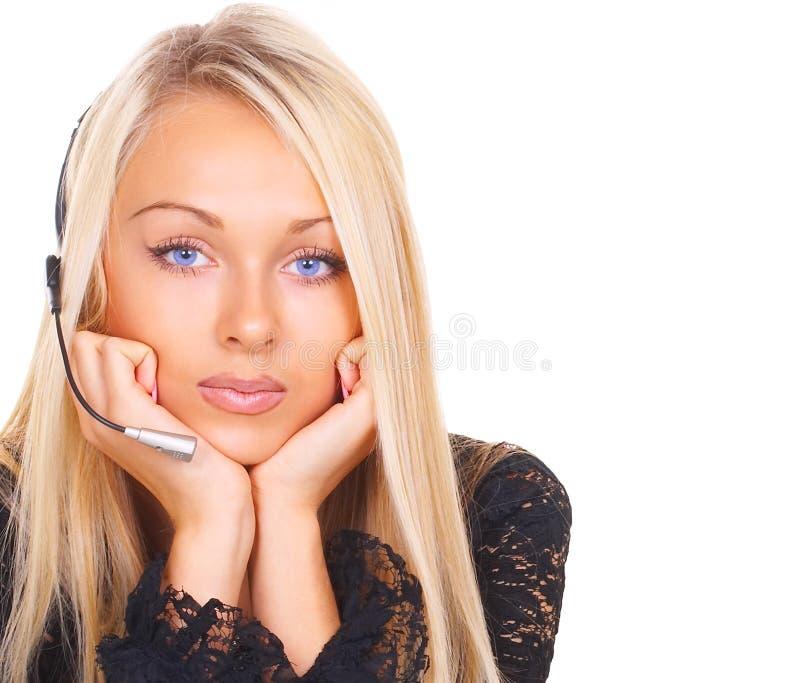 χειριστής κοριτσιών στοκ φωτογραφία με δικαίωμα ελεύθερης χρήσης