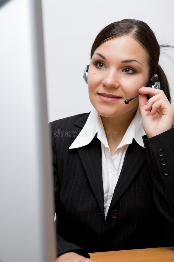 χειριστής τηλεφωνικών κέν&ta στοκ εικόνες