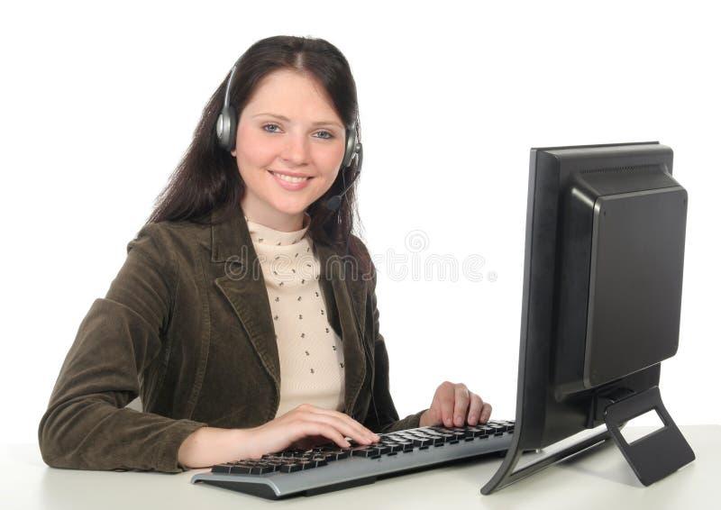 χειριστής τηλεφωνικών κέν&ta στοκ φωτογραφίες με δικαίωμα ελεύθερης χρήσης