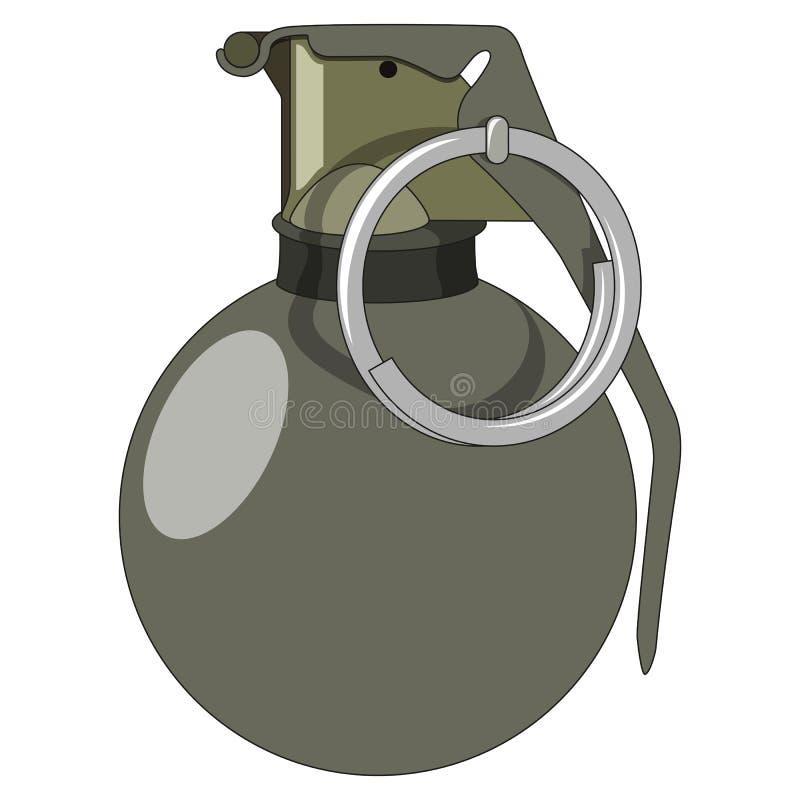 Χειροβομβίδα απεικόνιση αποθεμάτων