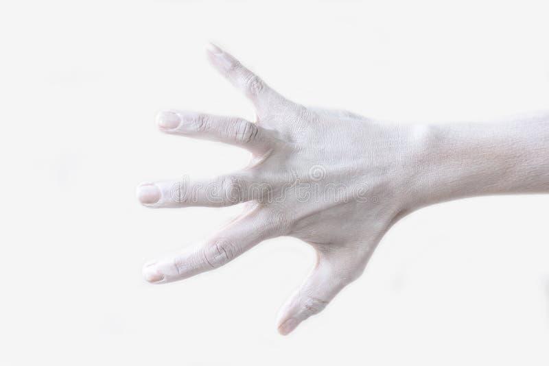 Χειρονομίες, θέσεις και εκφράσεις με τα θηλυκά χέρια και τα δάχτυλα στοκ φωτογραφίες