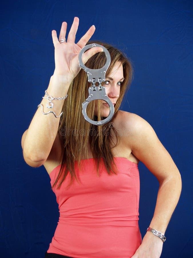 χειροπέδες στοκ φωτογραφία με δικαίωμα ελεύθερης χρήσης