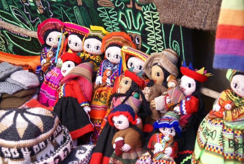 Χειροποίητη ινδική κούκλα στοκ εικόνες