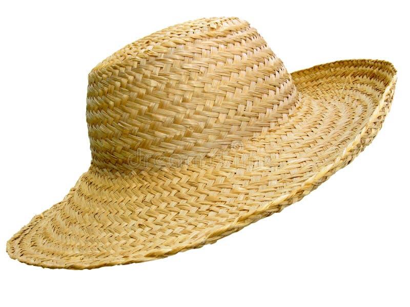 χειροποίητο άχυρο καπέλ&omeg στοκ φωτογραφίες