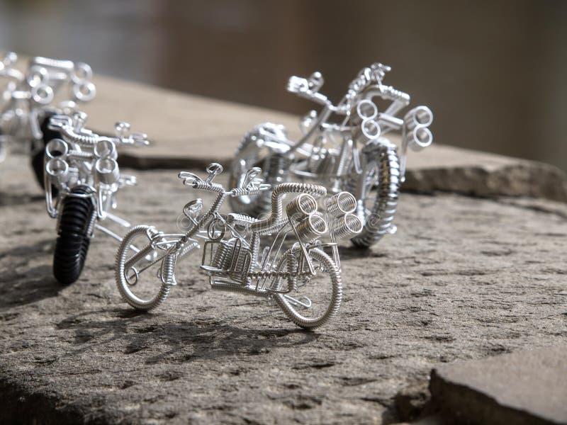 Χειροποίητο ποδήλατο στοκ εικόνες