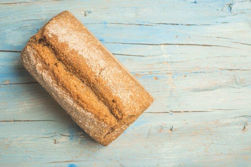 Χειροτεχνικό συλλαβισμένο υπόβαθρο ψωμιού στοκ εικόνες με δικαίωμα ελεύθερης χρήσης