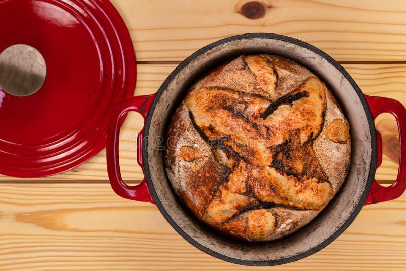 Χειροτεχνικό τηγάνι ψωμιού και ψησίματος στοκ εικόνες με δικαίωμα ελεύθερης χρήσης