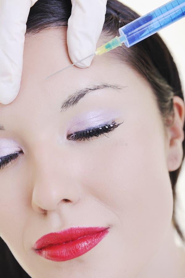 Χειρουργική επέμβαση προσώπου Botox στοκ φωτογραφία με δικαίωμα ελεύθερης χρήσης