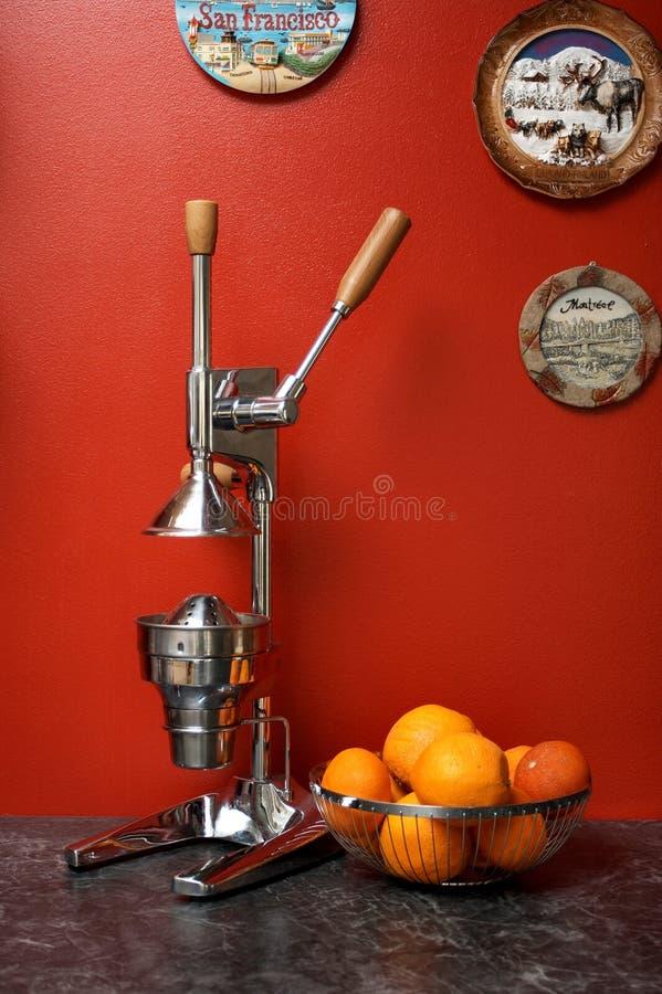 χειρωνακτικά πορτοκάλι&alpha στοκ εικόνες