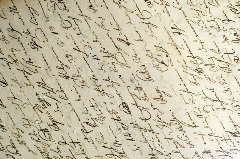 χειρόγραφο αρχείο εντολών στοκ φωτογραφίες με δικαίωμα ελεύθερης χρήσης