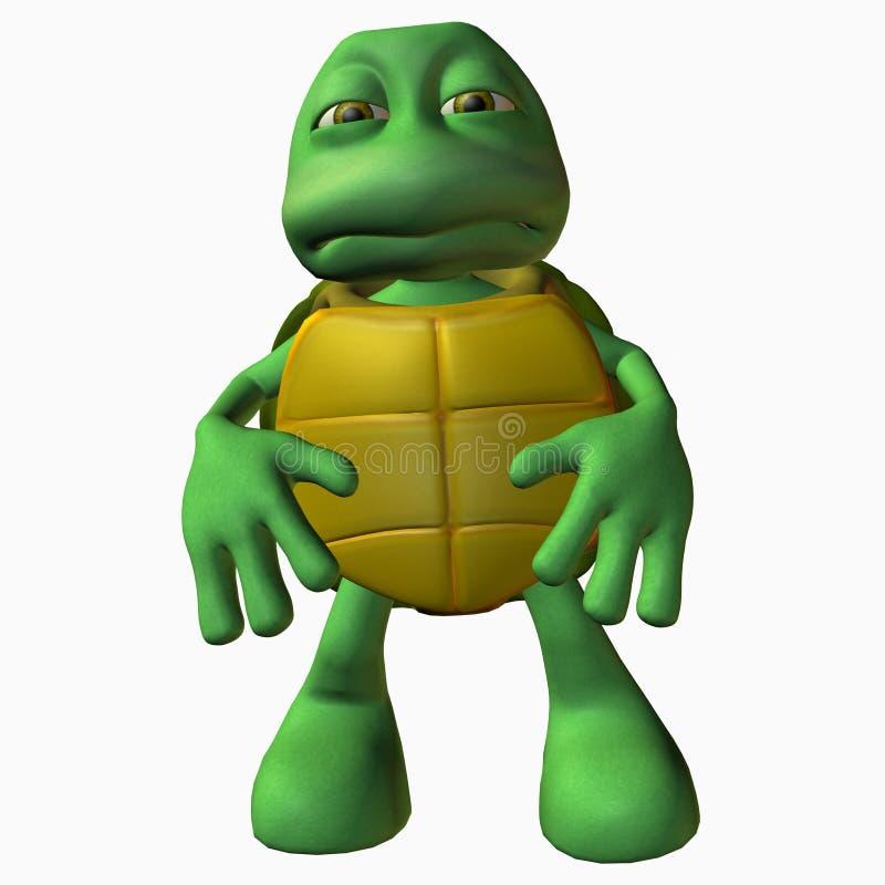 χελώνα αγοριών bummer απεικόνιση αποθεμάτων