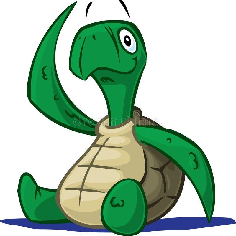 χελώνα μωρών απεικόνιση αποθεμάτων