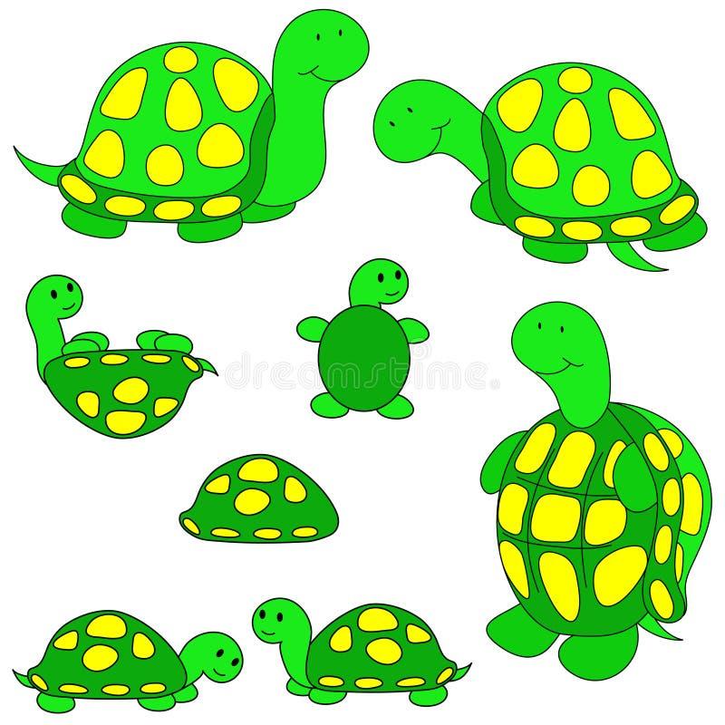 χελώνα συνδετήρων τέχνης απεικόνιση αποθεμάτων
