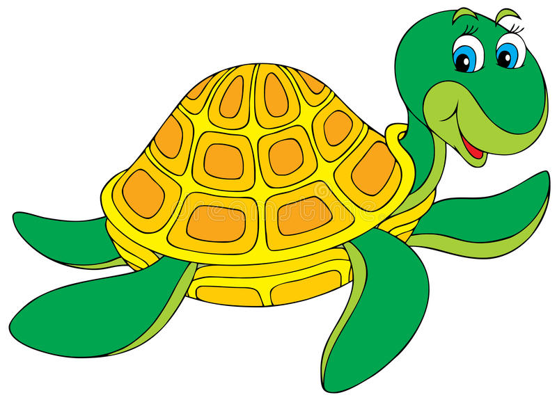 χελώνα διανυσματική απεικόνιση