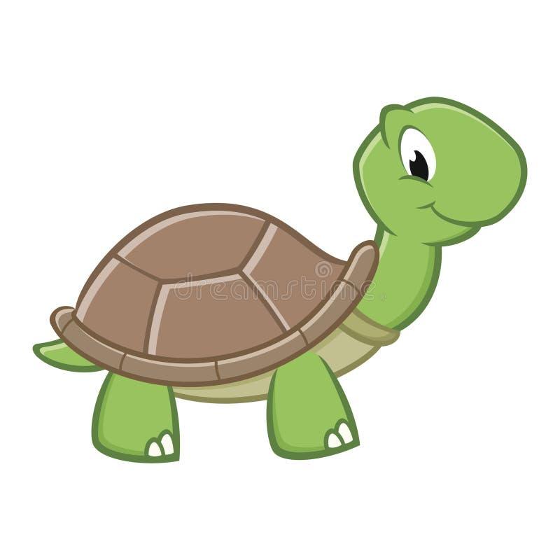 Χελώνα κινούμενων σχεδίων ελεύθερη απεικόνιση δικαιώματος