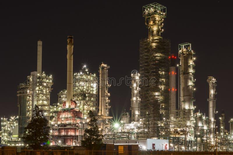 Χημικές εγκαταστάσεις καθαρισμού σε Botlek Ρότερνταμ στοκ φωτογραφία με δικαίωμα ελεύθερης χρήσης