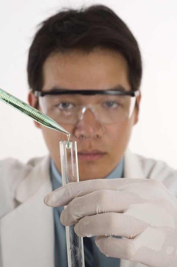 χημικές ουσίες που βάζο&ups στοκ φωτογραφία
