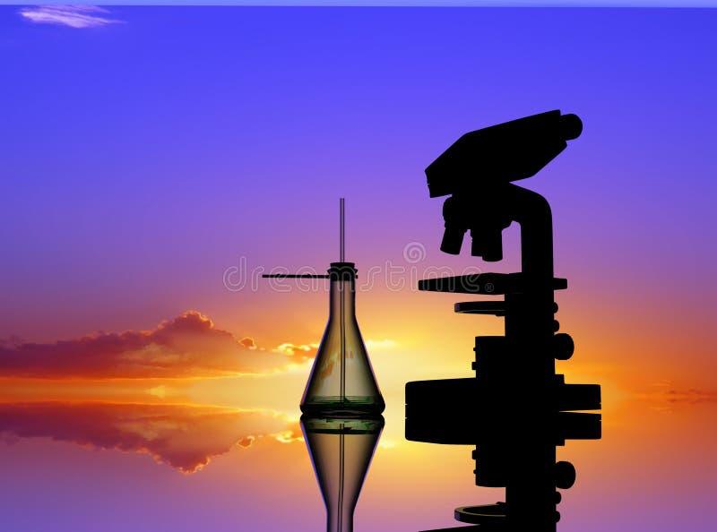 χημικές συσκευές διανυσματική απεικόνιση