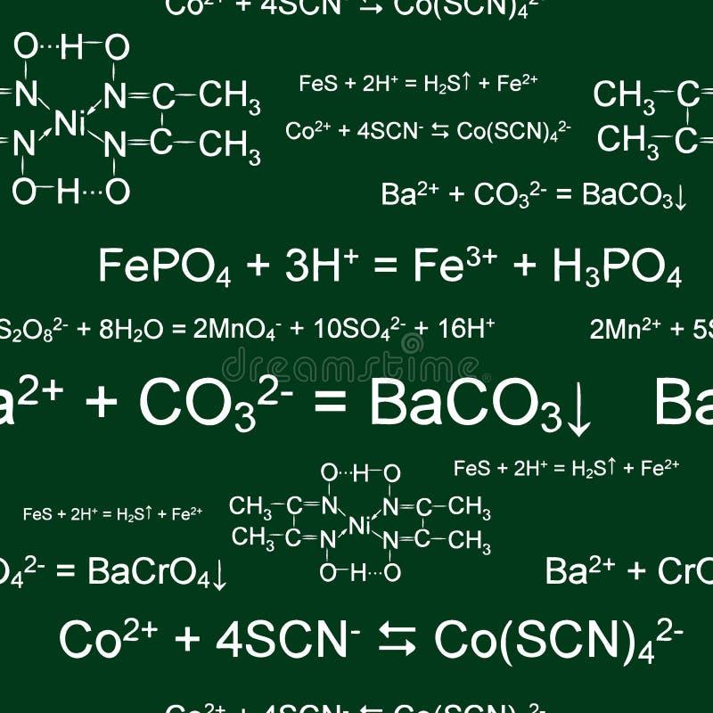 χημική άνευ ραφής ταπετσαρί απεικόνιση αποθεμάτων