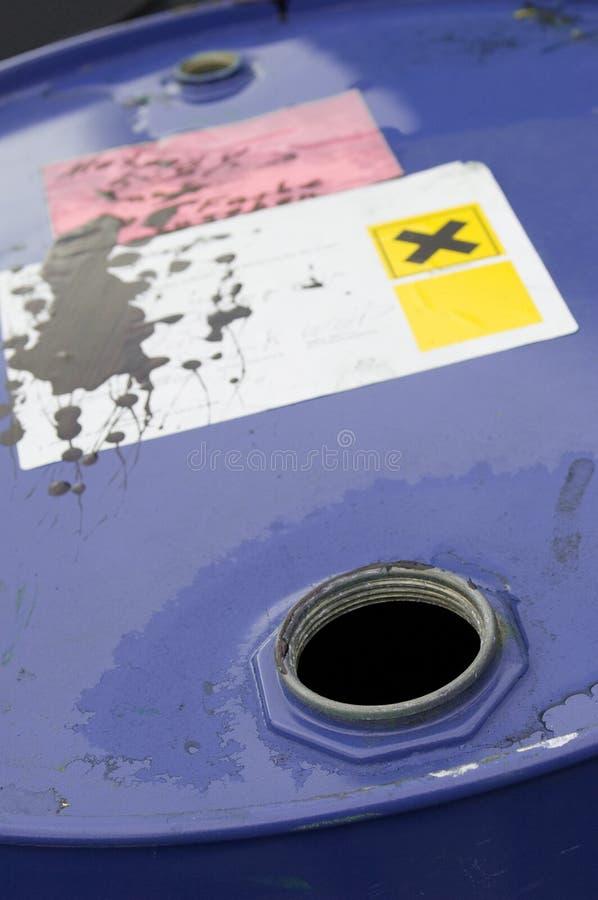 χημική ουσία βαρελιών στοκ εικόνες