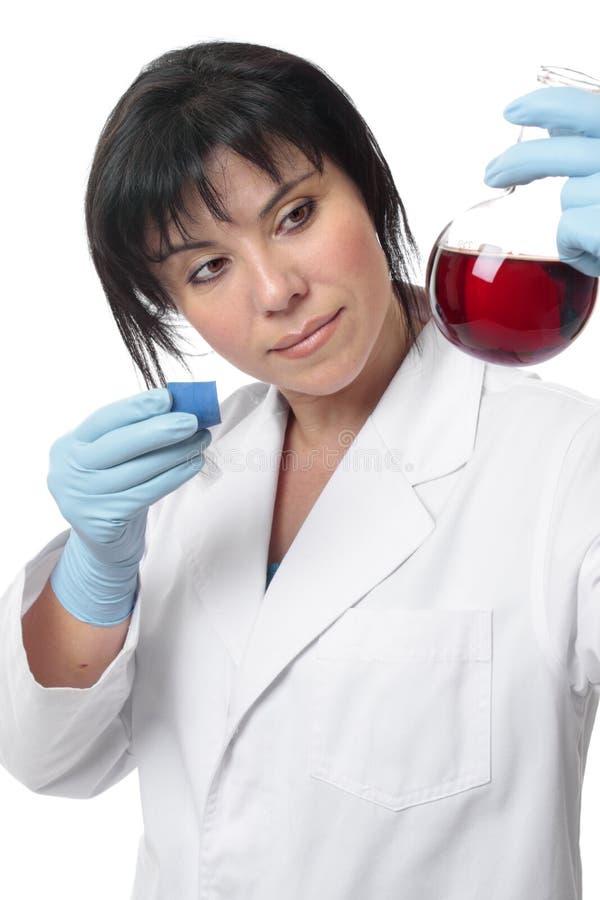 χημική παρατήρηση στοκ φωτογραφία