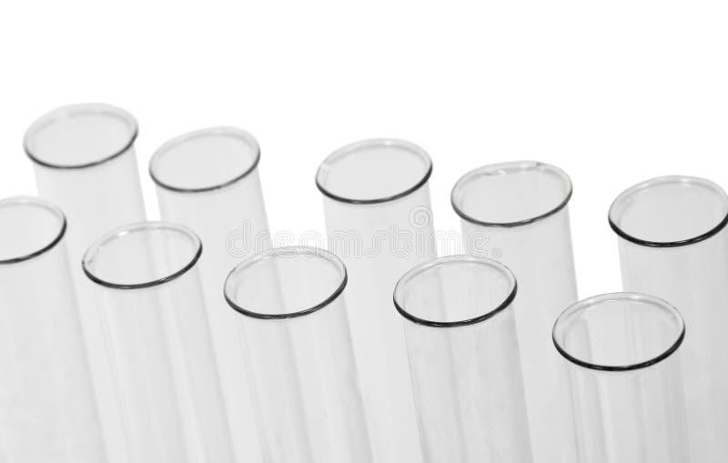 Χημικοί σωλήνες δοκιμής στοκ φωτογραφία με δικαίωμα ελεύθερης χρήσης