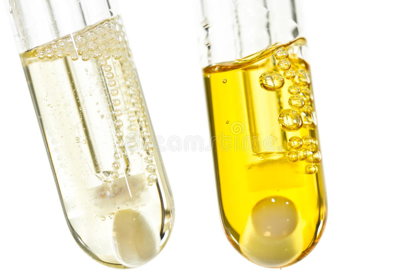 χημικοί υγροί οργανικοί &sig στοκ φωτογραφία