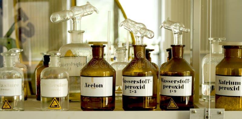 χημικό εργαστήριο στοκ εικόνες