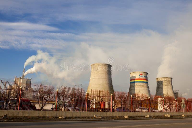 Χημικό εργοστάσιο στοκ εικόνες με δικαίωμα ελεύθερης χρήσης