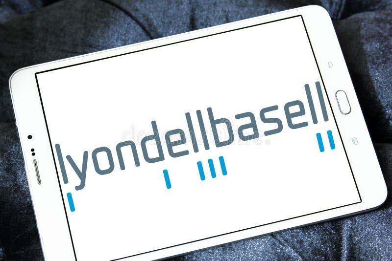 Χημικό λογότυπο επιχείρησης LyondellBasell στοκ εικόνα με δικαίωμα ελεύθερης χρήσης