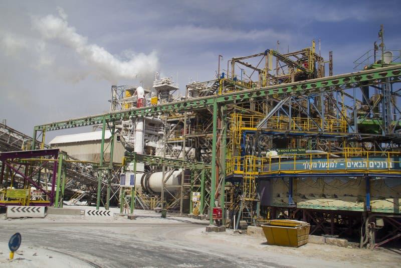 Χημικό τεμάχιο εργοστασίων στοκ εικόνα
