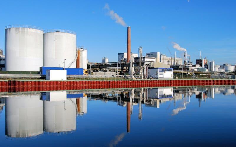 χημικό industrie στοκ εικόνα με δικαίωμα ελεύθερης χρήσης