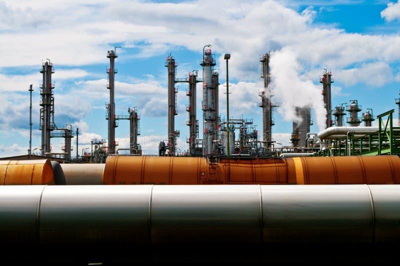 χημικό industrie στοκ εικόνες