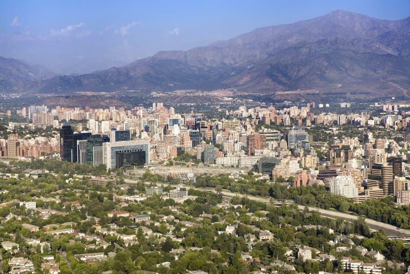Χιλή de Σαντιάγο στοκ φωτογραφία με δικαίωμα ελεύθερης χρήσης