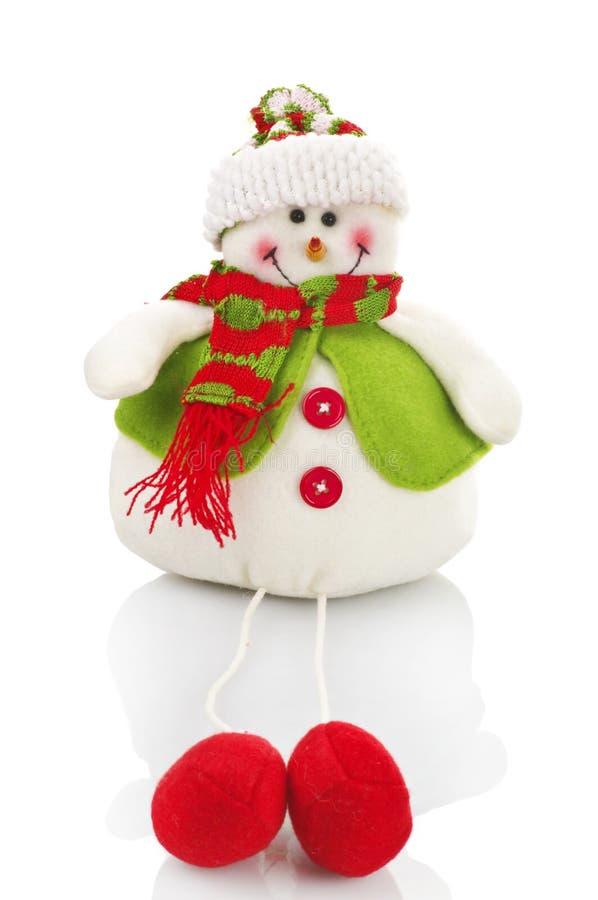 χιονάνθρωπος μαριονετών στοκ εικόνες