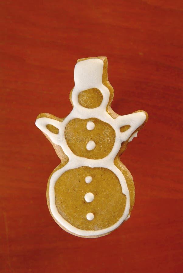 χιονάνθρωπος μελοψωμάτων στοκ εικόνες με δικαίωμα ελεύθερης χρήσης
