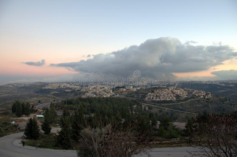 Χιονάνθρωπος της Ιερουσαλήμ στοκ εικόνα