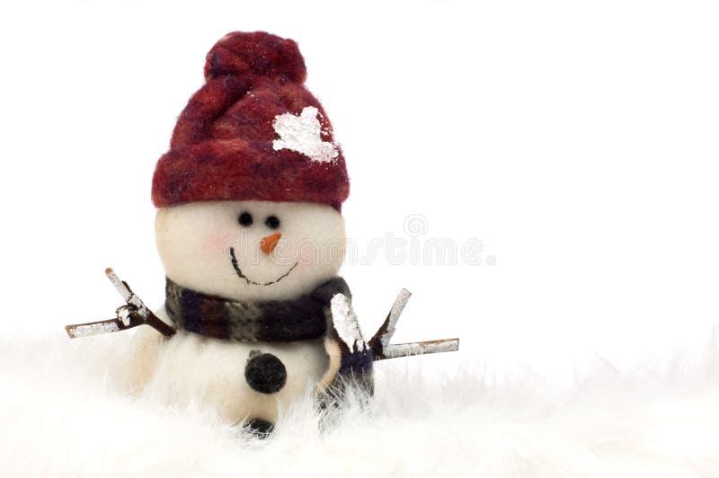 Download χιονάνθρωπος στοκ εικόνες. εικόνα από ψυχρός, κόκκινος - 1538296