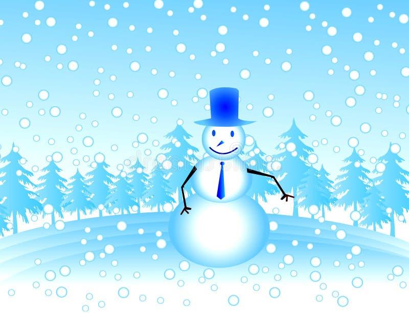 Download χιονάνθρωπος διανυσματική απεικόνιση. εικονογραφία από φεστιβάλ - 379019