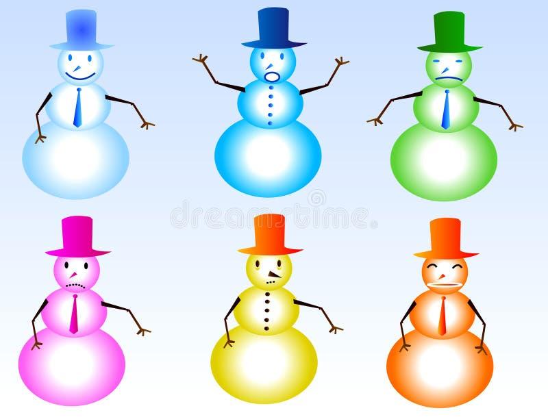 Download χιονάνθρωπος απεικόνιση αποθεμάτων. εικονογραφία από παιχνίδι - 379021