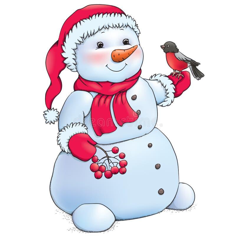 Χιονάνθρωπος απεικόνιση αποθεμάτων