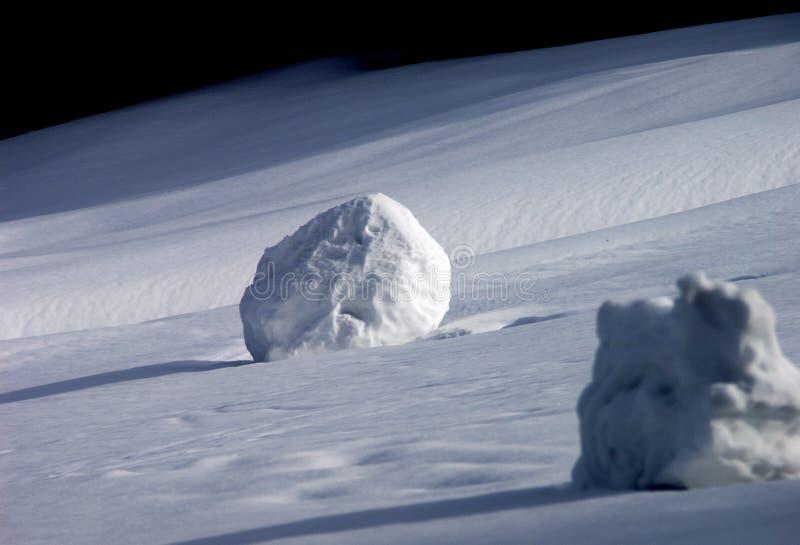χιονιά στοκ εικόνα